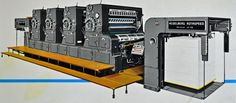 Two pages full of Heidelberg press p0rn! | Scanning Around With Gene: The Printing Press as Art | CreativePro.com