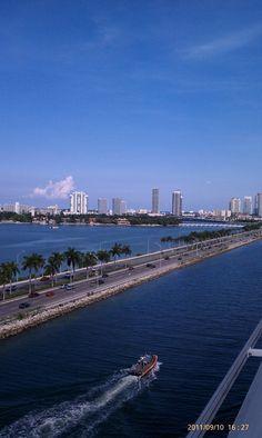 Port of Miami. Carnival Cruise