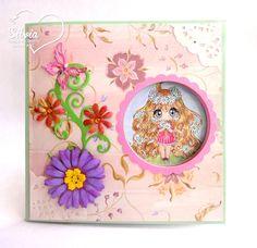 Latinas Arts and Crafts: Interpretaciones Tutorial #37: Peek A Boo Card