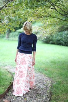 Coral Ball Skirt