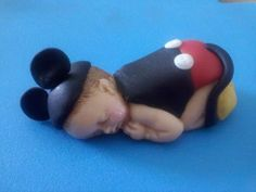 Do in Fondant -Popular items for Baby Mickey baby shower cake on Etsy Mickey Mouse Baby Shower, Baby Mickey, Baby Boy Cakes, Baby Shower Cakes, Baby Mold, Biscuit, Baby Cake Topper, Gum Paste Flowers, Fondant Baby