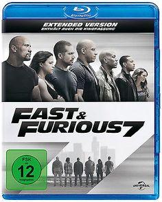 Blu-ray * FAST & FURIOUS 7 - EXTENDED VERSION # NEU OVP +sparen25.com , sparen25.de , sparen25.info