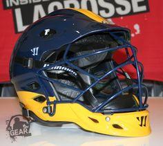 West Genesee Wildcats Warrior TII Helmet  962516e63