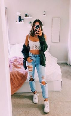 trendy outfits for summer & trendy outfits ; trendy outfits for summer ; trendy outfits for school ; trendy outfits for women ; Trendy Summer Outfits, Cute Teen Outfits, Cute Comfy Outfits, Teen Fashion Outfits, Teenager Outfits, Look Fashion, Stylish Outfits, Girl Outfits, Amazing Outfits