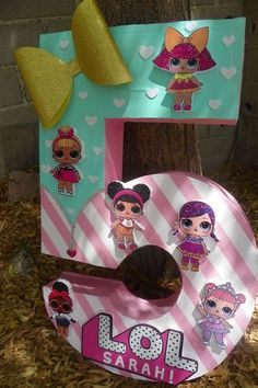 If you are thinking of throwing a LOL Surprise Birthday Party then this is the post for you. LOL is such an amazingly popular birthday party theme we thought we would come up with 21 LOL surprise Birthday Party ideas that will make your party awesome 7th Birthday Party Ideas, 8th Birthday, Surprise Birthday, Ideas Party, Ideas Cumpleaños, Fete Emma, Doll Party, Lol Dolls, Unicorn Party