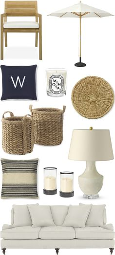 CHIC COASTAL LIVING: Beach House: GET THE LOOK @A Williams-Sonoma Home