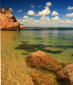 Lagos coastline in Algarve, Portugal. Copyright: David Moreau