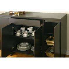 Furniture of America Holland Red Cocoa Buffet Cabinet   Overstock™ Shopping - Big Discounts on Furniture of America Buffets $309