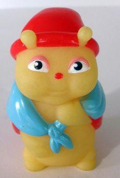1986 Playskool Glow Worms Glo Friends GLO GRANNYBUG Finger Puppet #Playskool