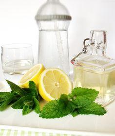 Mentás citromfűszörp