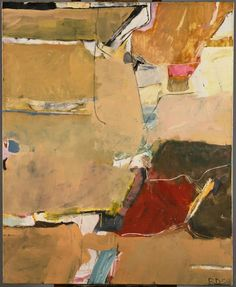 richard diebenkorn the berkeley years | richard diebenkorn (1922-1993) | berkeley #12 | oil on canvas | 1954