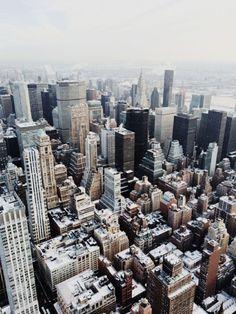 Snowy New York City. Photo:Gabrielle Assaf