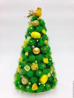 Купить Ель интерьерная - зеленый, ель новогодняя, ель для интерьера, новогодняя композиция, новогодняя елочка