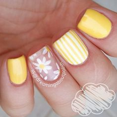 23 Large Yellow Nail Art Designs 2019 Source by Cute Acrylic Nails, Acrylic Nail Designs, Nail Art Designs, Yellow Nails Design, Yellow Nail Art, Easter Nails, Nail Swag, Flower Nails, Creative Nails