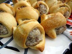 Sausage & Cream Cheese Crescents | Plain Chicken