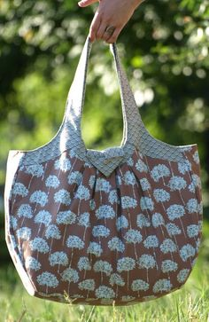 Watch out! Done! Sew! Pitypangos giga bag - Tutorial