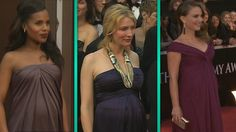 These actresses rocked the best accessory at the Academy Awards: a baby bump! http://preggieapp.com #PreggieOscars