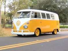 Electric Volkswagen Bus, converted from a 1966 VW Microbus