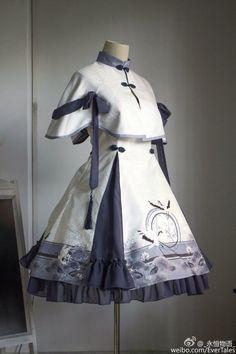 Old Fashion Dresses, Kimono Fashion, Fashion Outfits, Pretty Outfits, Pretty Dresses, Beautiful Dresses, Kawaii Fashion, Cute Fashion, Rock Fashion
