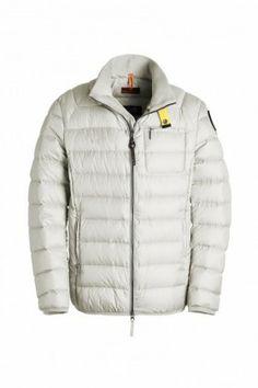 http://www.soccerrange.co.uk/pjs-parajumpers-ugo-men-jacket-in-white.html - PJS Parajumpers UGO Men Jacket in White