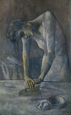 Woman Ironing | Pablo Picasso