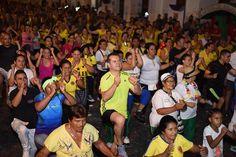 Actividad física despide el año con 'Parrandón Navideño' en el parque Guadalupe Zapata de Cuba