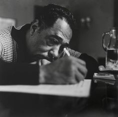 "Edward Kennedy ""Duke"" Ellington (April 1899 – May Jazz Artists, Jazz Musicians, Jazz Quotes, Modest Proposal, 50s Music, Musician Photography, Classic Jazz, Duke Ellington, Cinema"