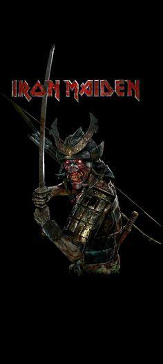 Metal Band Logos, Metal Bands, Iron Maiden Blood Brothers, Iron Maiden Posters, Eddie The Head, Metallica Art, Iron Maiden Band, Rock Y Metal, Heavy Metal Art