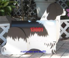 Offering a Cocker Spaniel Mailbox, Custom novelty dog mailboxes