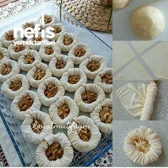 Yummy Nightingale Nest Dessert – Leckere Rezepte - My CMS Köstliche Desserts, Delicious Desserts, Yummy Food, Pastry Recipes, Cake Recipes, Dessert Recipes, Cake Recipe Using Buttermilk, Greek Pastries, Puff Pastries