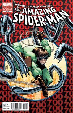 Amazing Spider-man 700 (Amazing Spider-man 300 homage)