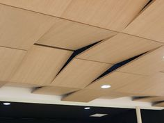 Download the catalogue and request prices of acoustic laminate ceiling tiles Prestige d'oberflex | ceiling tiles, design LACAU associés, Prestige D'oberflex collection to manufacturer Oberflex®