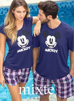 A Couple's Guide for Matching Outfits on Stylevore Couple Pajamas, Girls Pajamas, Matching Couple Outfits, Matching Couples, Lazy Day Outfits, Cute Outfits, Pijama Disney, Pajama Outfits, Matching Pajamas