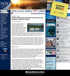 ::Náutica Online::  Ashland e Barracuda participam da fabricação das Ecobalsas no RJ  Acesse o link da matéria http://www.nautica.com.br/noticias/viewnews.php?nid=ult0c40e4e6a5ac1d5be8d56b2131e98310