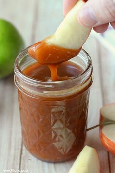 Caramel Apple Dip Delicious Homemade Caramel Apple Dip { } Very easy to make and so yummy!Delicious Homemade Caramel Apple Dip { } Very easy to make and so yummy! Canning Recipes, Dip Recipes, Apple Recipes, Sauce Recipes, Fall Recipes, Dessert Recipes, Dessert Sauces, Recipies, Canning Tips