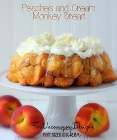Peaches+and+Cream+Monkey+Bread