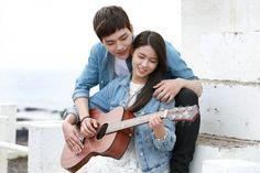 "Yeo Jin-goo(Jeong Jae-min) and Seolhyun(Baek Ma-ri) from KBS 2TV drama ""Orange Marmalade"""