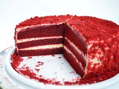 Red Velvet Recept, Sweet Bar, Diy Birthday, Tiramisu, Cheesecake, Food And Drink, Cooking, Ethnic Recipes, Kitchen