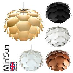 Find many great new & used options and get the best deals for MiniSun Designer Style Artichoke Layered Ceiling Pendant Light Shades Lighting at the best online prices at eBay! Free delivery for many products!