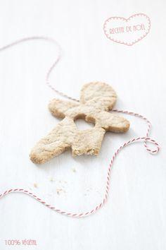 100% Végétal: Sablés de Noël au pain d'épices et marmelade d'oranges à la vanille. | Recette végétalienne - Vegan recipe