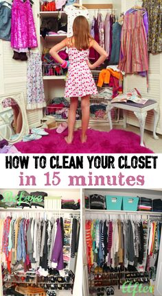 How To Clean Your Closet In 15 Minutes