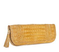 Loro #crocodile #clutch.  Handmade in Colombia. $700