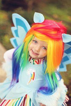 Rainbow Dash Costume Where do I get this wig??