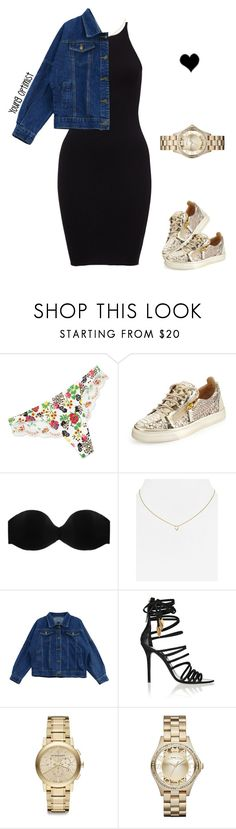 """""""yes ."""" by moenasha ❤ liked on Polyvore featuring Lise Charmel, Giuseppe Zanotti, Cosabella, Jennifer Zeuner, Chicnova Fashion, Burberry and Marc by Marc Jacobs"""