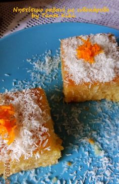 Vasilopita Cake, Vasilopita Recipe, Egg Free Desserts, Vegan Desserts, Dessert Recipes, Vegan Foods, Greek Sweets, Greek Desserts, Greek Cake