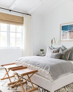 Amber Interiors Creates a Beachy Eclectic Home for Elyse Walker — Stace King Pretty Bedroom, Eclectic Home, Bedroom Design, Bohemian Bedroom Decor, Amber Interiors, Modern Bohemian Bedroom, Home Decor, Amber Interiors Bedroom, Eclectic Bedroom