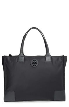 0f330cb02434dd Tory Burch 'Ella' Packable Nylon Tote available at #Nordstrom Black Handbags,  Luxury