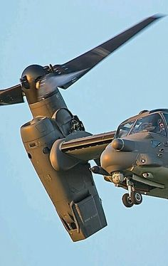 The Bell Boeing V-22 Osprey is an American multi-mission, tiltrotor military aircraft with both vertical takeoff and landing (VTOL), and short takeoff and landing (STOL) capabilities. It is designed to combine the functionality of a conventional helicopter with the long-range, high-speed cruise performance of a turboprop aircraft.