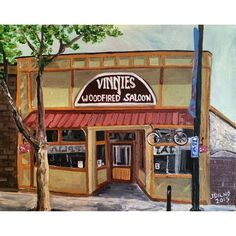 """Vinnies"" lefthand (non-dominate hand) painting acrylic on canvas. Acrylic Painting Canvas, Original Artwork, Hand Painted, House Styles, Home Decor, Room Decor, Home Interior Design, Home Decoration, Interior Decorating"