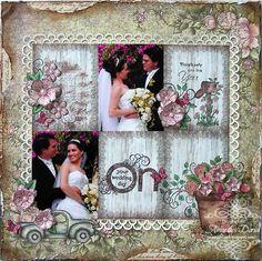 on your wedding day {Heartfelt Creations DT} - Scrapbook.com